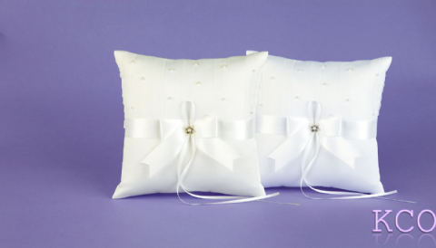 Ring Cushions Style R0373 White~ Special Occasion
